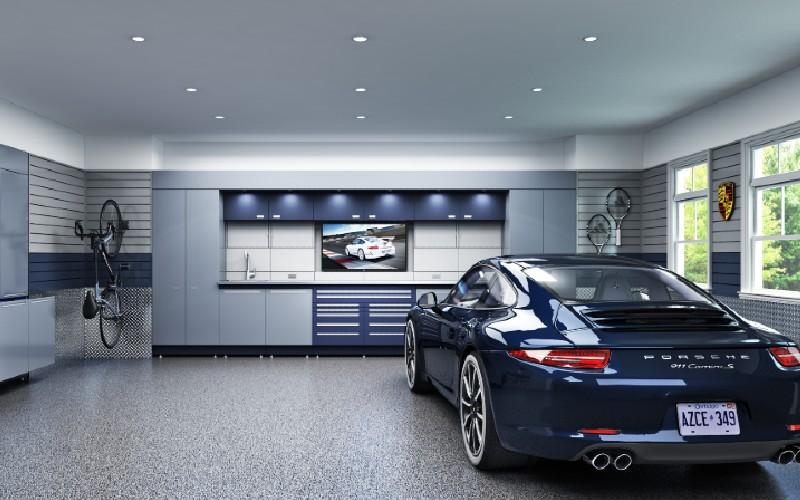 Garajes modernos