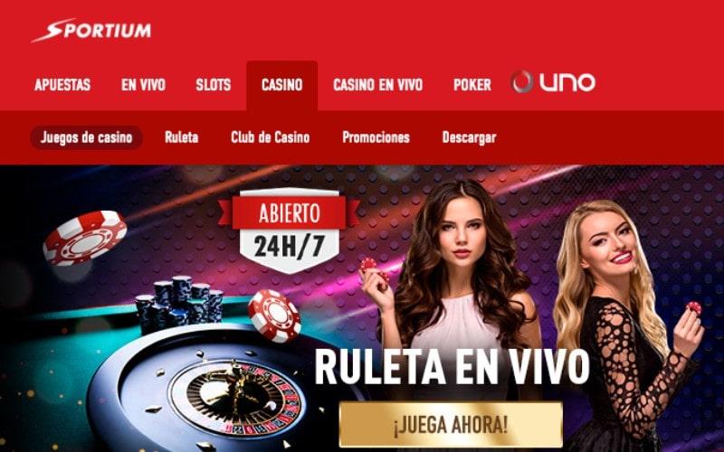 Casino Sportium lider del mercado en innovaciones tecnologicas